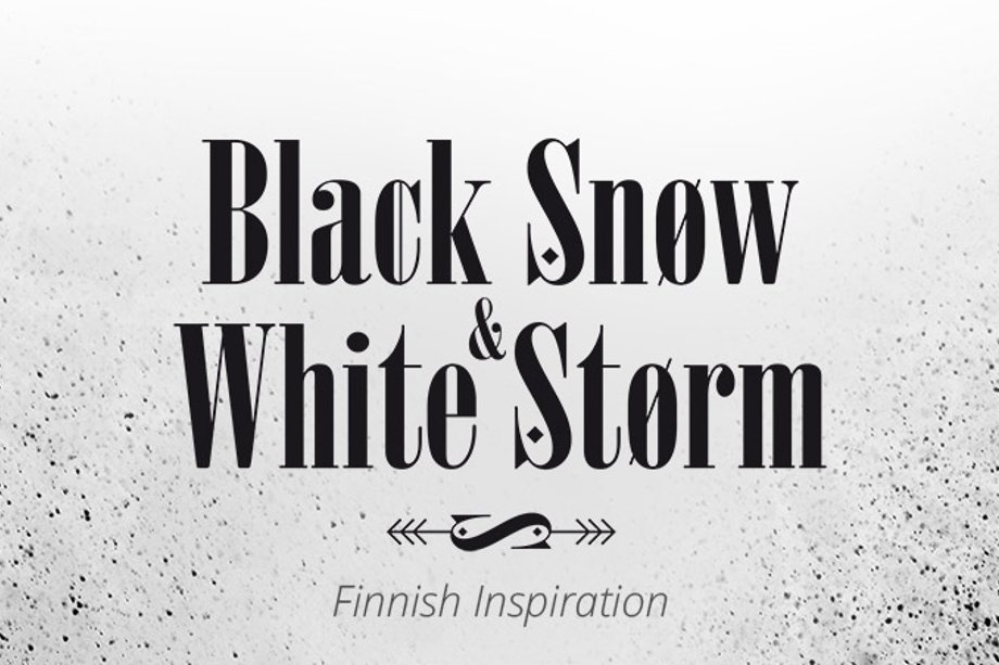 Nouvelle collection Black Snom and White Storm