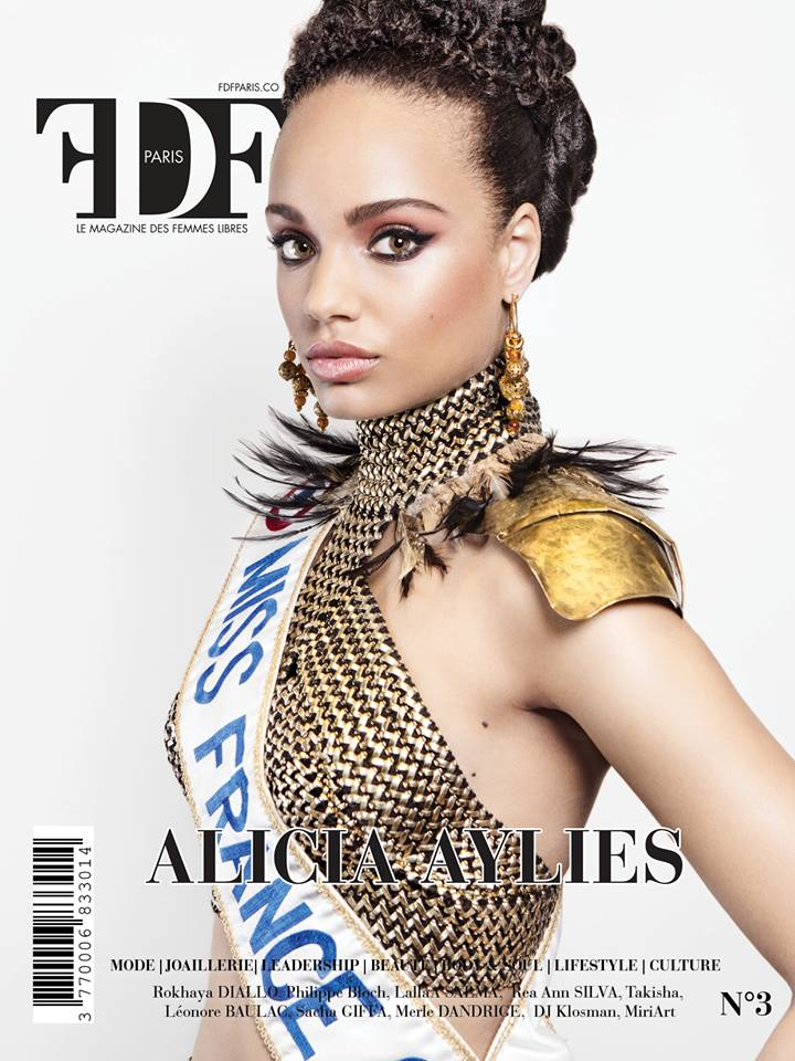 Alicia Aylies Miss France 2017