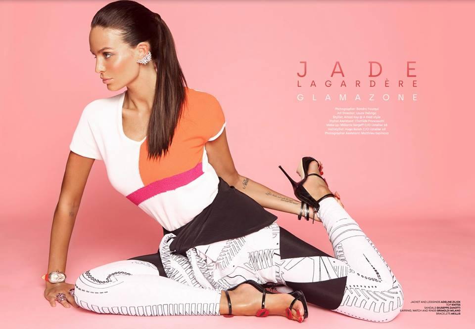 Jade Lagardère pour Blush