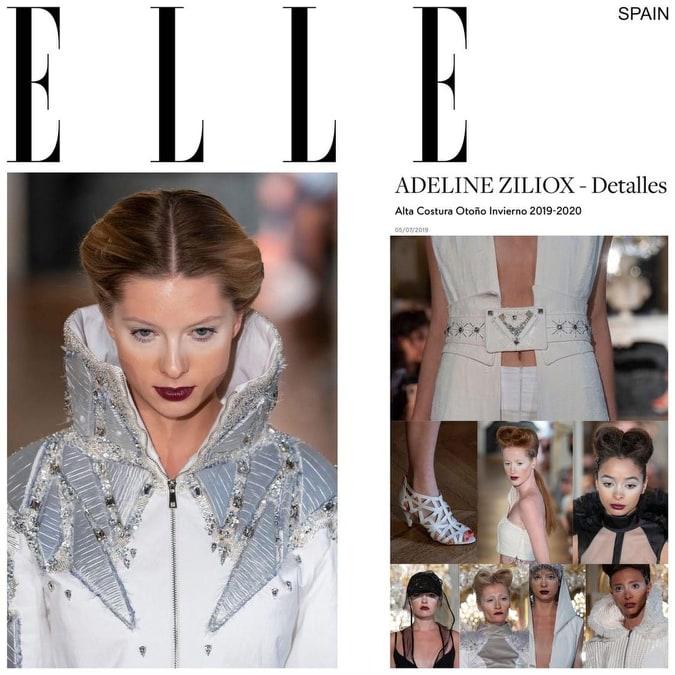 """Revue de presse défilé couture """"Black Snow & White Storm"""""""