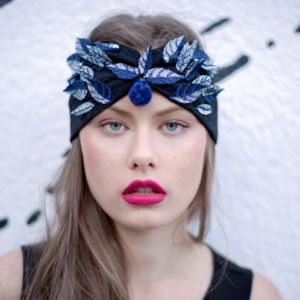 Headband feuille by Adeline Ziliox