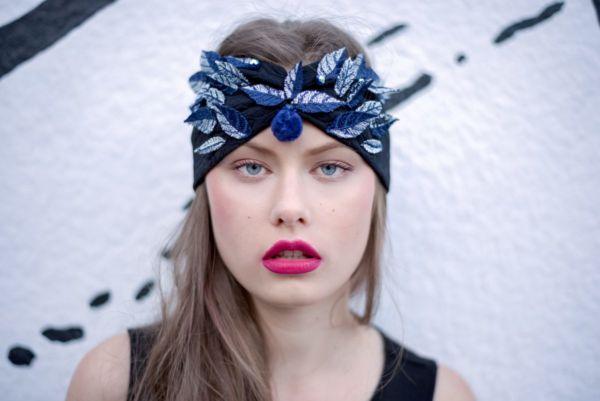 Headband feuille by Adeline Ziliox