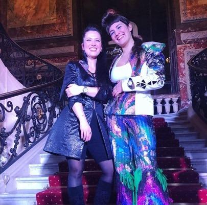 Adeline Ziliox avec Sôra