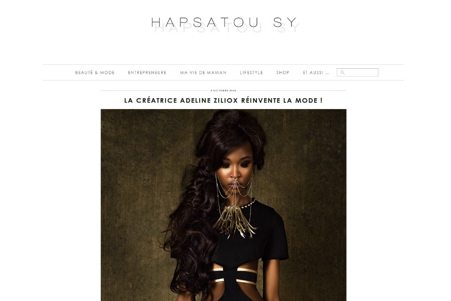 Article blog Hapsatou Sy