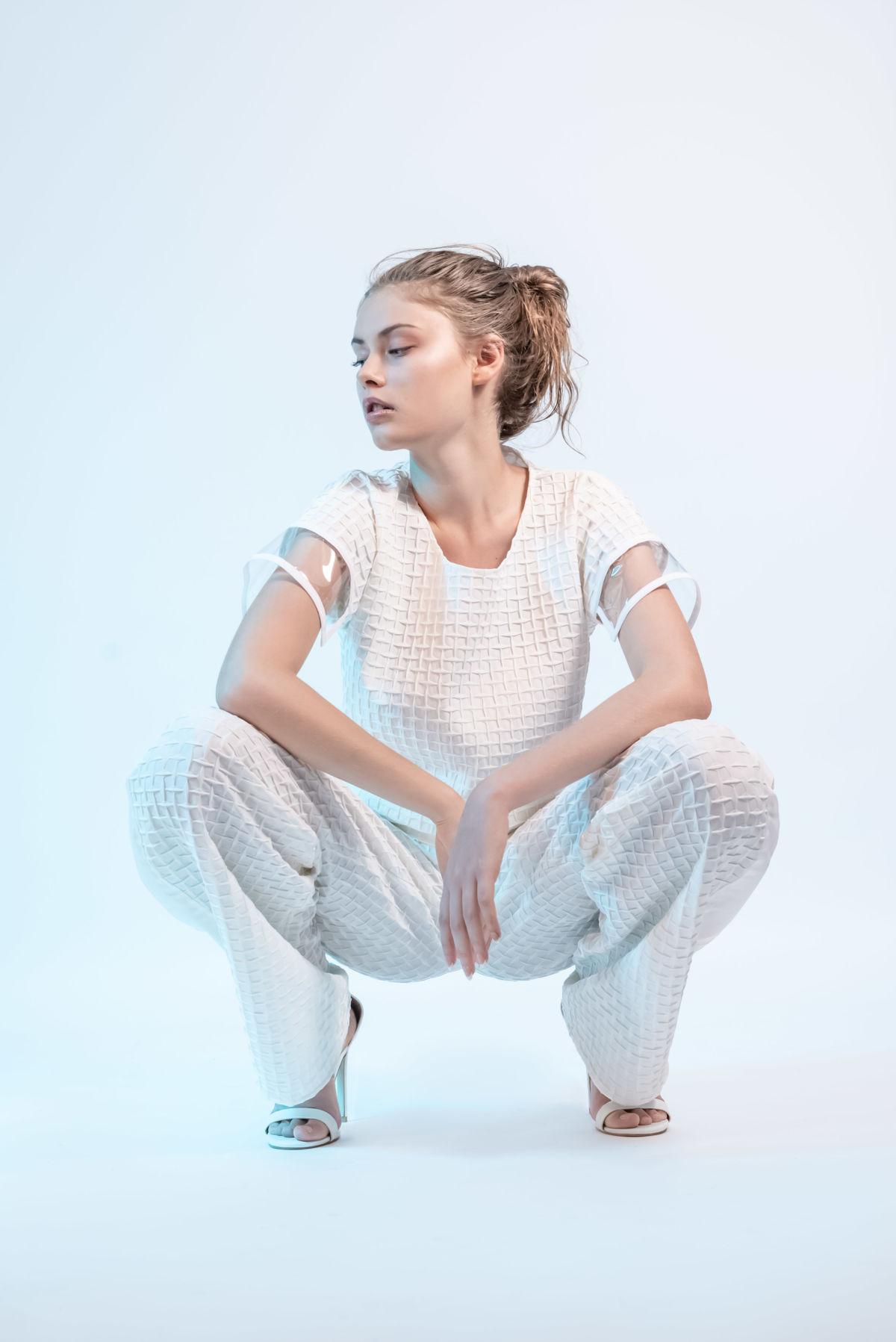 Adeline Ziliox Crystal Skin Lookbook