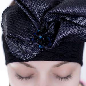 Headband Black by Adeline Ziliox