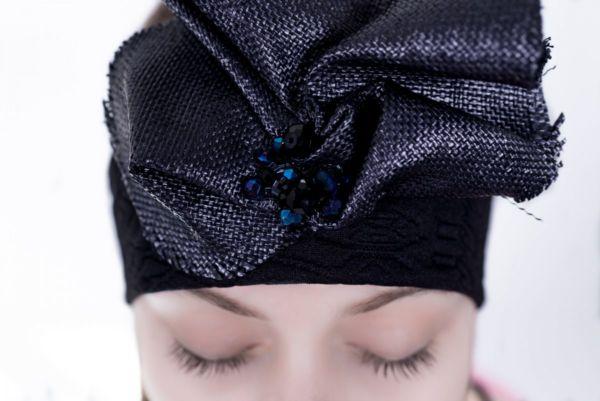 Headband Black by Adeline Ziliox