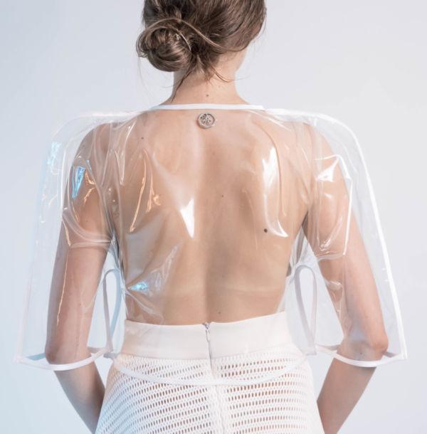 Jacket Cosmic White by Adeline Ziliox