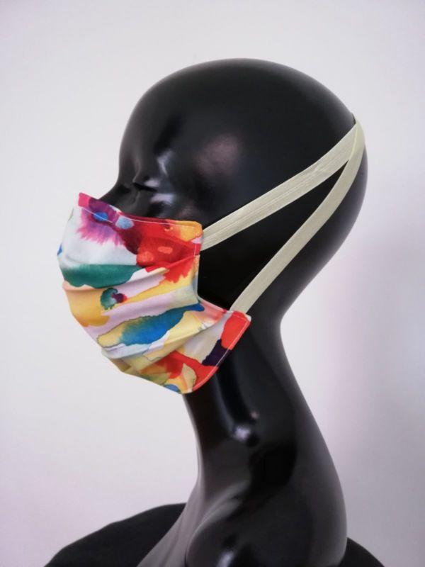 Masque AFNOR créateur masque visage Covid Synesthesia