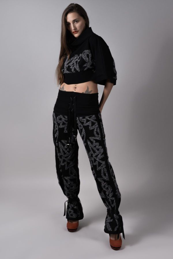 pantalon frosted Adeline Ziliox