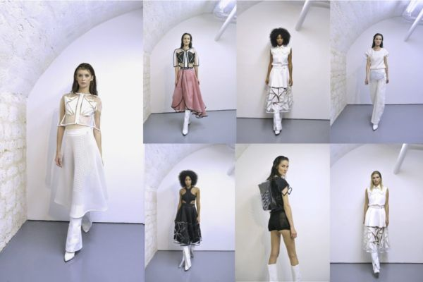 "Paris Fashion Week Collection ""Cystal Skin"""