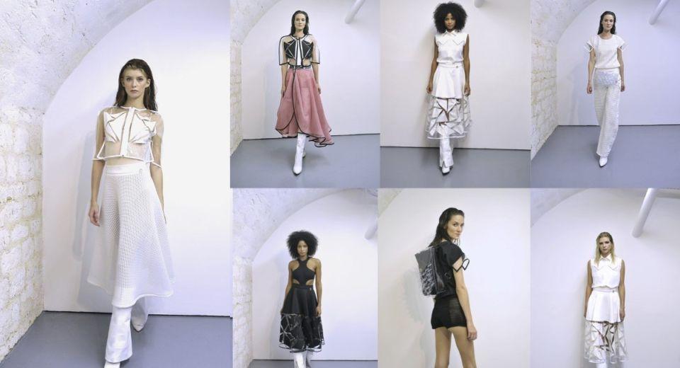 "Paris Fashion Week Collection ""Cystal Skin"""